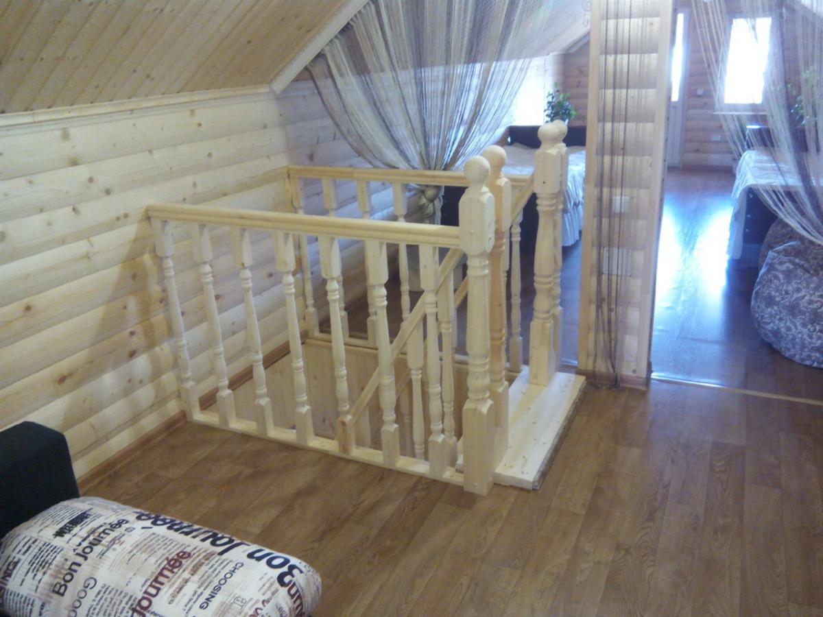 Ограждения из дерева - Русские усадьбы - Лестницы на второй этаж